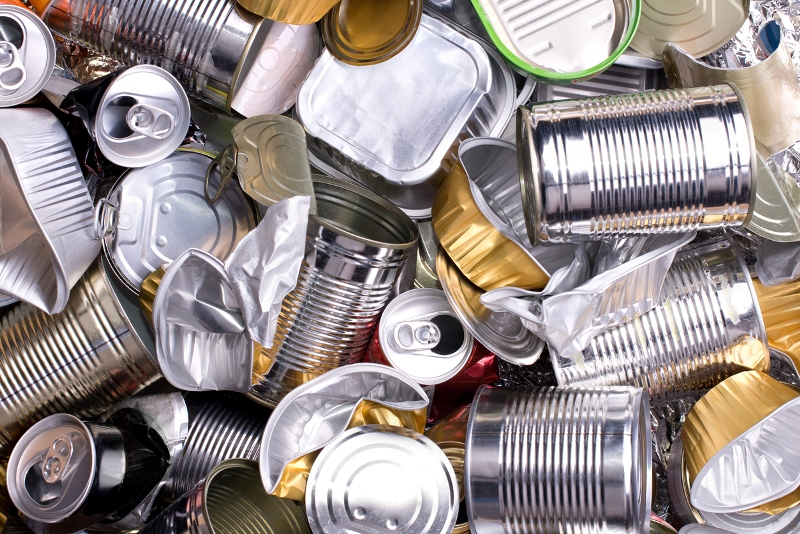recycling aluminium cans